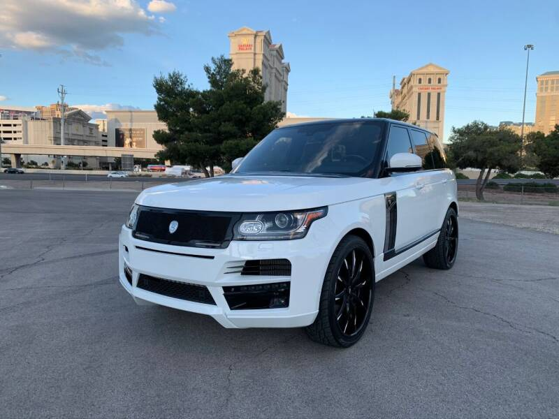 2013 Land Rover Range Rover for sale at The Auto Center in Las Vegas NV