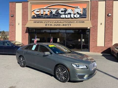 2017 Lincoln MKZ for sale at CITY CAR AUTO INC in Nashville TN