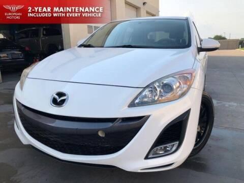 2010 Mazda MAZDA3 for sale at European Motors Inc in Plano TX