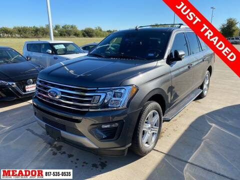 2020 Ford Expedition MAX for sale at Meador Dodge Chrysler Jeep RAM in Fort Worth TX