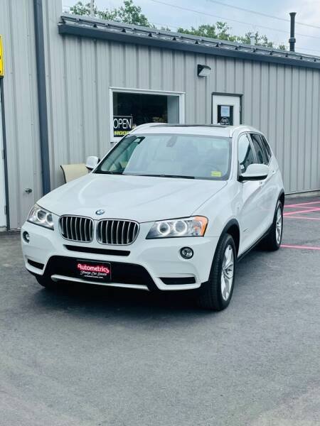 2012 BMW X3 for sale at AUTOMETRICS in Brunswick ME