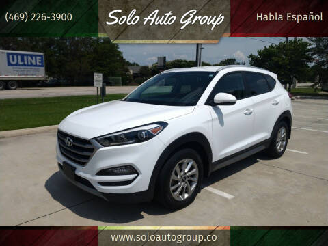 2017 Hyundai Tucson for sale at Solo Auto Group in Mckinney TX