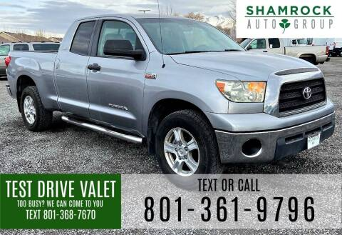 2007 Toyota Tundra for sale at Shamrock Group LLC #1 in Pleasant Grove UT