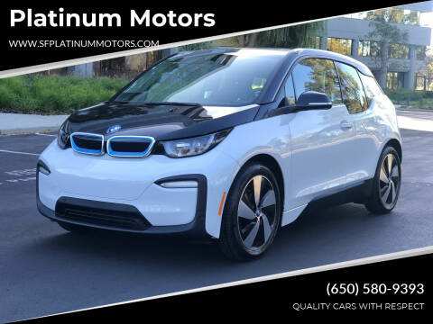 2018 BMW i3 for sale at Platinum Motors in San Bruno CA