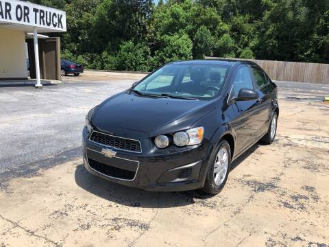 2015 Chevrolet Sonic for sale at Beach Cars in Fort Walton Beach FL