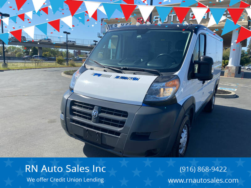 2017 RAM ProMaster Cargo for sale at RN Auto Sales Inc in Sacramento CA