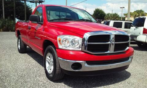 2007 Dodge Ram Pickup 1500 for sale at Pinellas Auto Brokers in Saint Petersburg FL