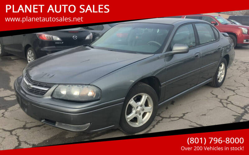 2005 Chevrolet Impala for sale at PLANET AUTO SALES in Lindon UT