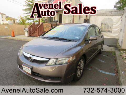 2010 Honda Civic for sale at Avenel Auto Sales in Avenel NJ