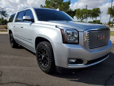 2017 GMC Yukon XL for sale at AZ WORK TRUCKS AND VANS in Mesa AZ