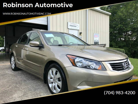 2008 Honda Accord for sale at Robinson Automotive in Albermarle NC