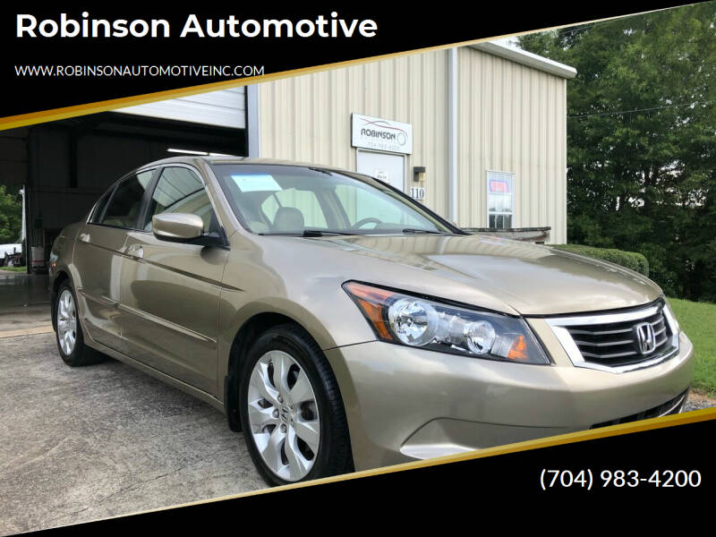 2008 Honda Accord for sale at Robinson Automotive in Albemarle NC