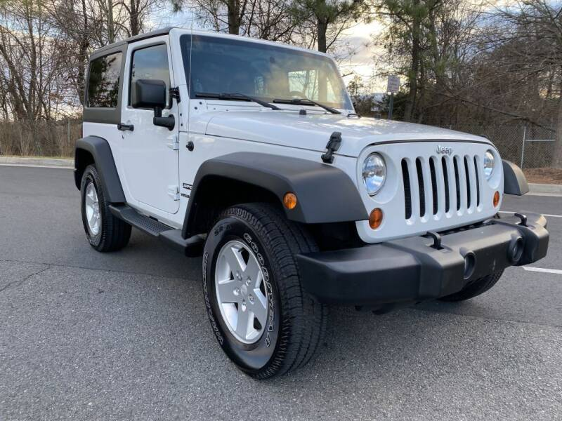 2012 Jeep Wrangler for sale at PM Auto Group LLC in Chantilly VA