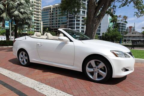 2010 Lexus IS 350C for sale at Choice Auto in Fort Lauderdale FL