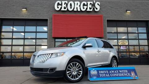 2013 Lincoln MKX for sale at George's Used Cars - Pennsylvania & Allen in Brownstown MI