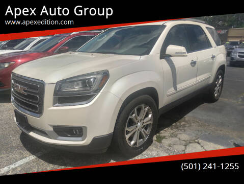 2014 GMC Acadia for sale at Apex Auto Group in Cabot AR