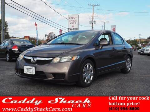 2010 Honda Civic for sale at CADDY SHACK CARS in Edgewater MD