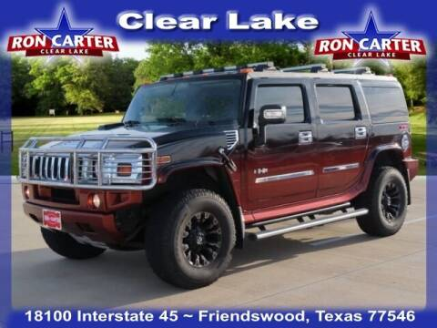 2008 HUMMER H2 for sale at Ron Carter  Clear Lake Used Cars in Houston TX