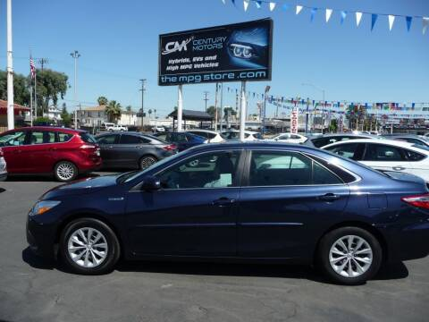 2015 Toyota Camry Hybrid for sale at CENTURY MOTORS in Fresno CA