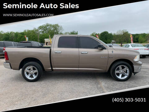 2010 Dodge Ram Pickup 1500 for sale at Seminole Auto Sales in Seminole OK