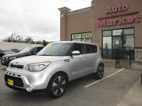 2014 Kia Soul for sale at Auto Market in Oklahoma City OK