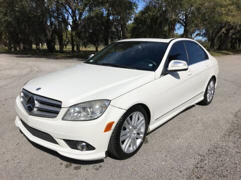 2009 Mercedes-Benz C-Class for sale at ROADHOUSE AUTO SALES INC. in Tampa FL