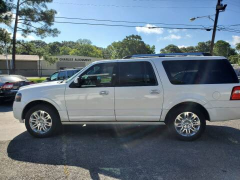 2014 Ford Expedition EL for sale at Bill Bailey's Affordable Auto Sales in Lake Charles LA