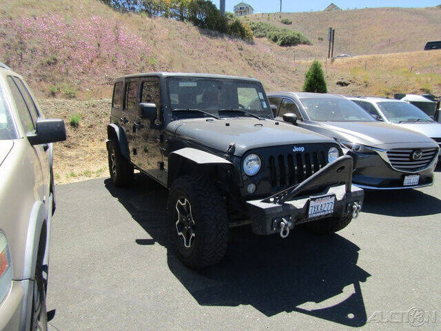 2017 Jeep Wrangler Unlimited for sale at Guy Strohmeiers Auto Center in Lakeport CA