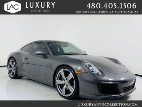 2017 Porsche 911 for sale at Luxury Auto Collection in Scottsdale AZ