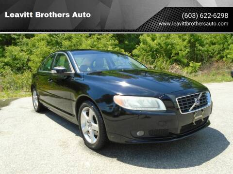 2009 Volvo S80 for sale at Leavitt Brothers Auto in Hooksett NH