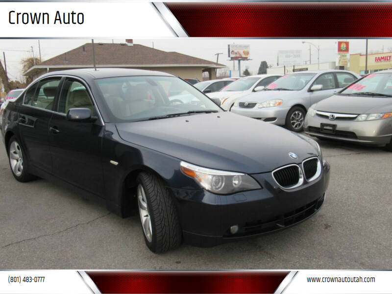 2004 BMW 5 Series for sale at Crown Auto in South Salt Lake City UT