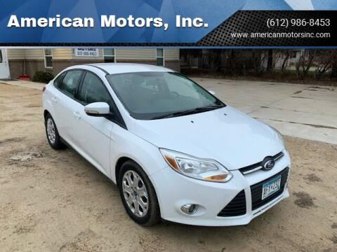 2012 Ford Focus for sale at American Motors, Inc. in Farmington MN