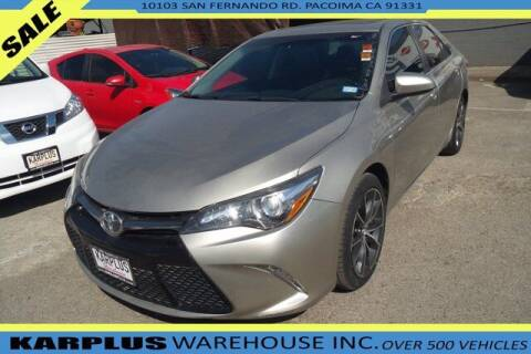 2016 Toyota Camry for sale at Karplus Warehouse in Pacoima CA