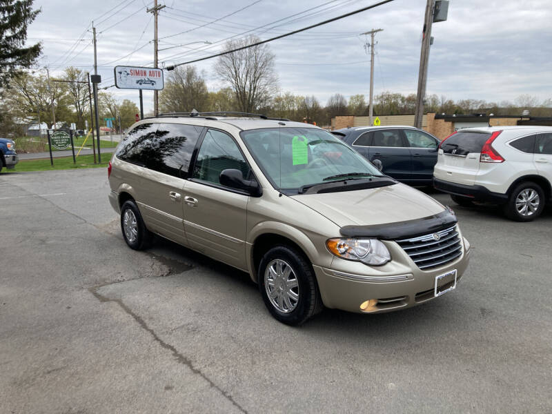 2007 Chrysler Town and Country for sale at JERRY SIMON AUTO SALES in Cambridge NY