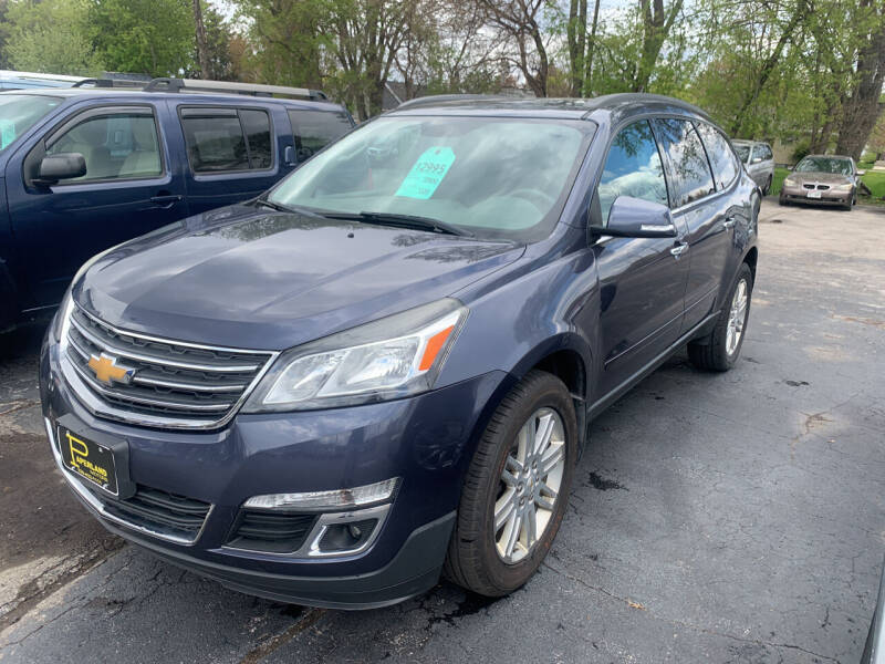 2013 Chevrolet Traverse for sale at PAPERLAND MOTORS in Green Bay WI