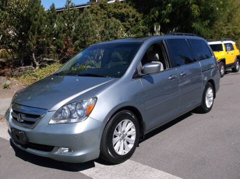 2006 Honda Odyssey for sale at Eastside Motor Company in Kirkland WA