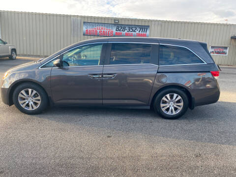 2016 Honda Odyssey for sale at Stikeleather Auto Sales in Taylorsville NC