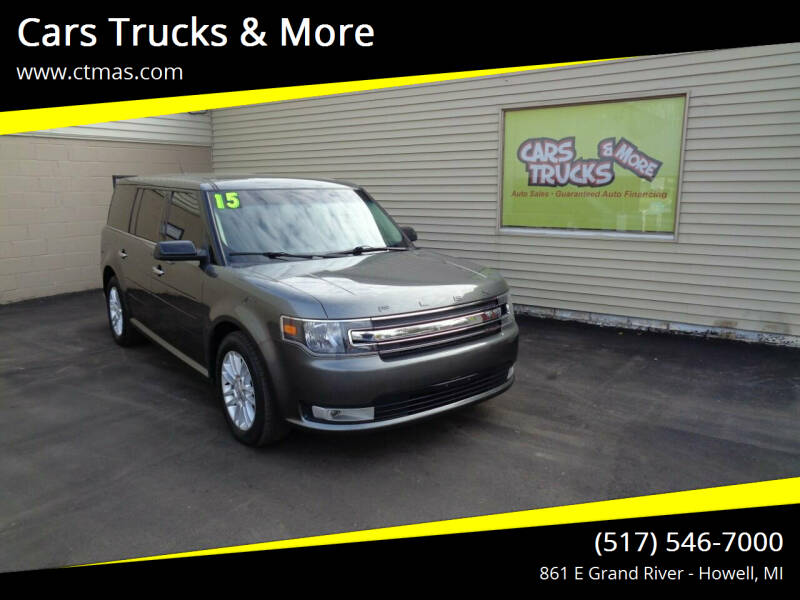 2015 Ford Flex for sale at Cars Trucks & More in Howell MI