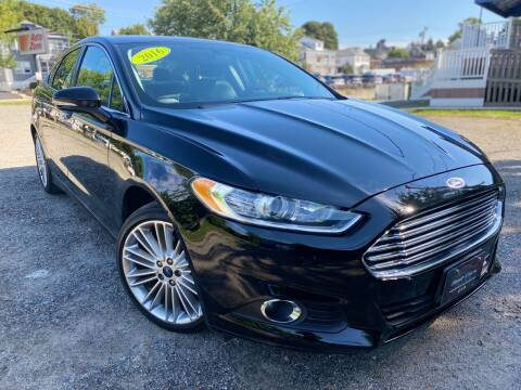 2016 Ford Fusion for sale at Best Cars Auto Sales in Everett MA