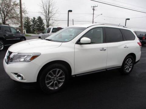 2015 Nissan Pathfinder for sale at FINAL DRIVE AUTO SALES INC in Shippensburg PA