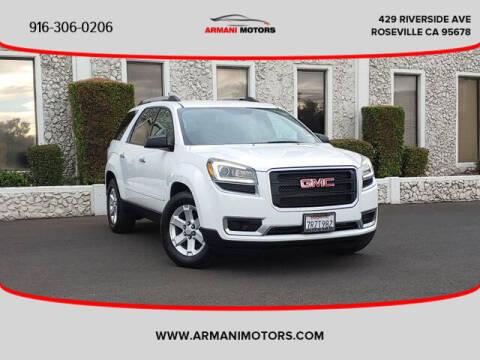 2016 GMC Acadia for sale at Armani Motors in Roseville CA