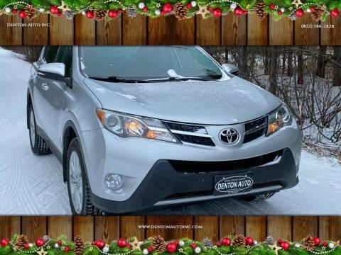 2015 Toyota RAV4 for sale at Denton Auto Inc in Craftsbury VT