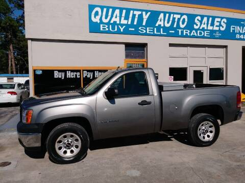 2008 GMC Sierra 1500 for sale at QUALITY AUTO SALES OF FLORIDA in New Port Richey FL