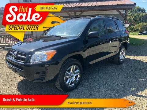 2012 Toyota RAV4 for sale at Brush & Palette Auto in Candor NY
