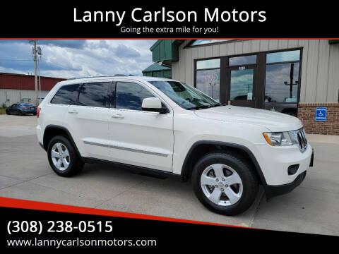 2011 Jeep Grand Cherokee for sale at Lanny Carlson Motors in Kearney NE