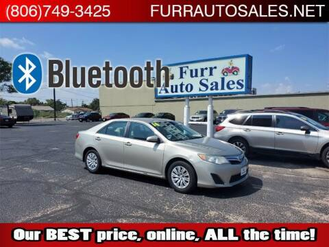 2014 Toyota Camry for sale at FURR AUTO SALES in Lubbock TX