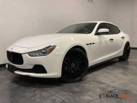 2017 Maserati Ghibli for sale at BLACK LABEL AUTO FIRM in Riverside CA