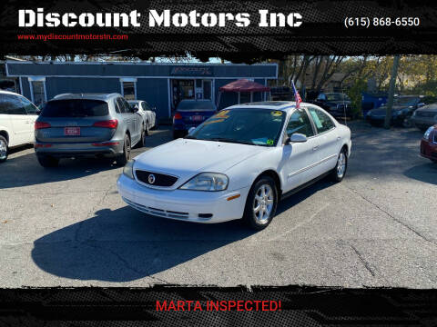 2000 Mercury Sable for sale at Discount Motors Inc in Madison TN