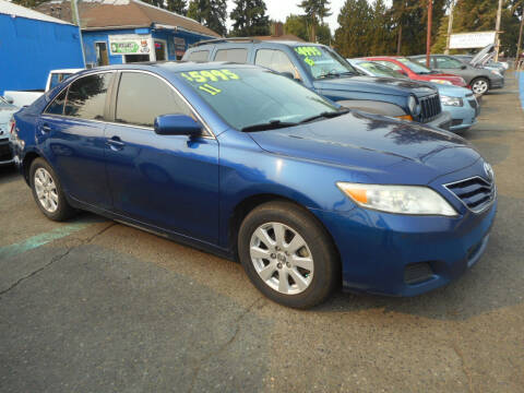 2011 Toyota Camry for sale at Lino's Autos Inc in Vancouver WA