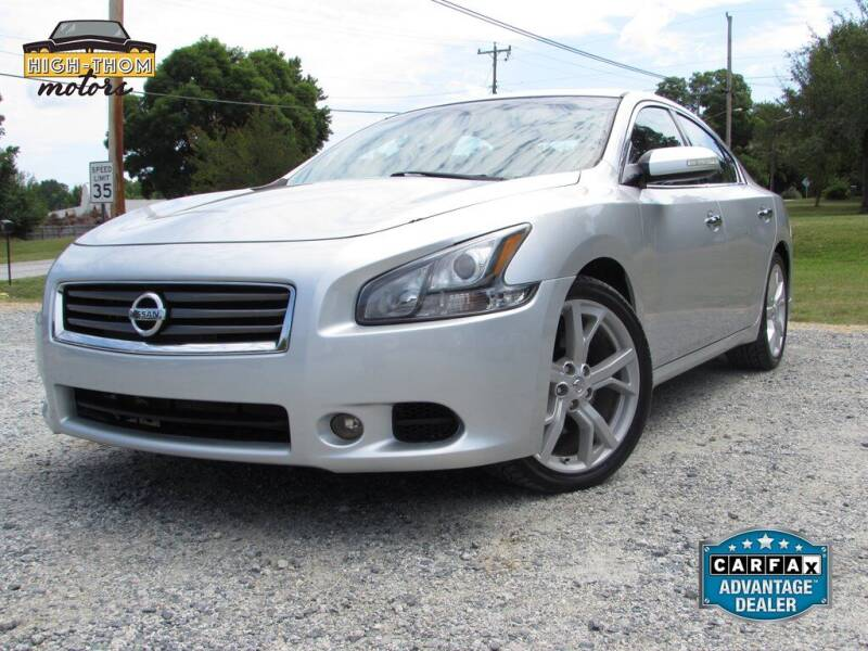2012 Nissan Maxima for sale at High-Thom Motors in Thomasville NC